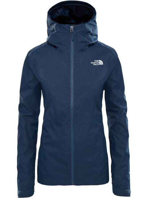 The North Face W's Frost Peak Waterproof Zip In Jacket Ink Blue